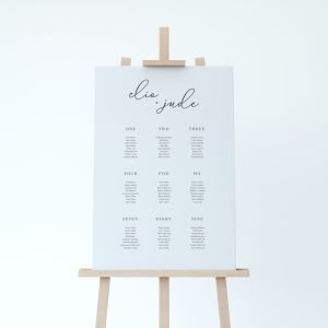 Table Plans