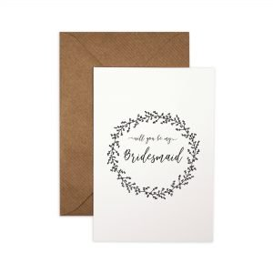 Wedding Role Proposal Cards