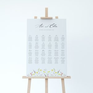 FLORA Wedding Table Plan