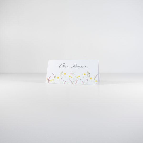 FLORA Wedding Place Card