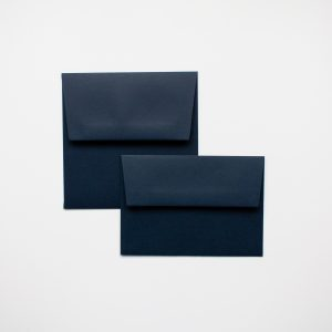 luxury imperial blue envelopes