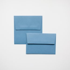luxury new blue envelopes
