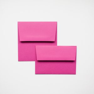 luxury fuchsia pink envelopes