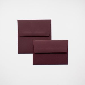 luxury Claret envelopes