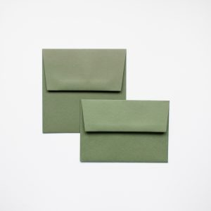 luxury Mid Green envelopes
