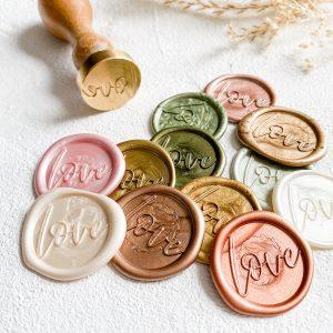 LOVE Wax Seals
