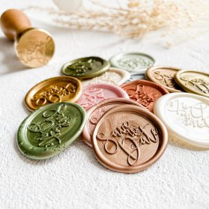 SAVE THE DATE Wax Seals